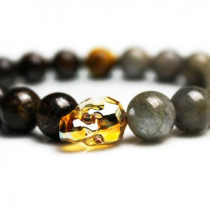 Metallic Sunrise Skull Bracelet - JCM Customs
