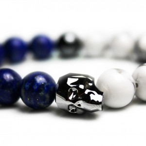 Chrome Skull Bracelet - JCM Customs