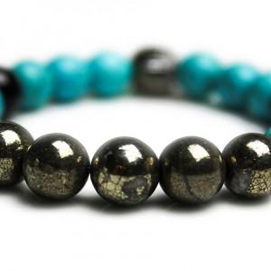 Gold Patina Skull Bracelet – JCM Customs